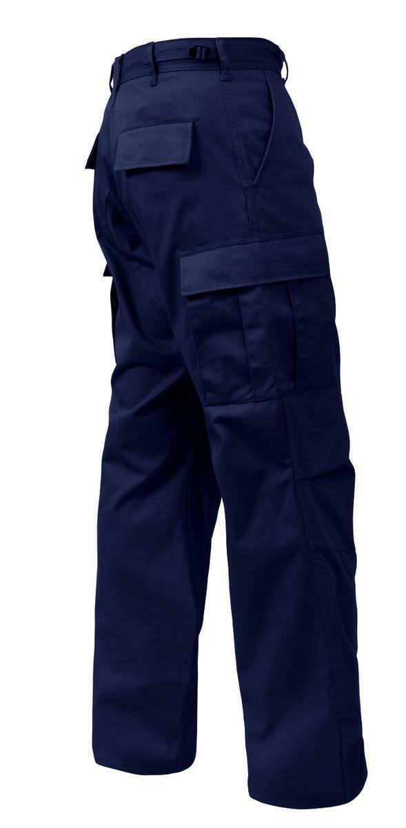 BDU Pants Mens redHCO 7885 NAVY blueE FATIGUES BDU Cargo Pants Military BDU S-6X