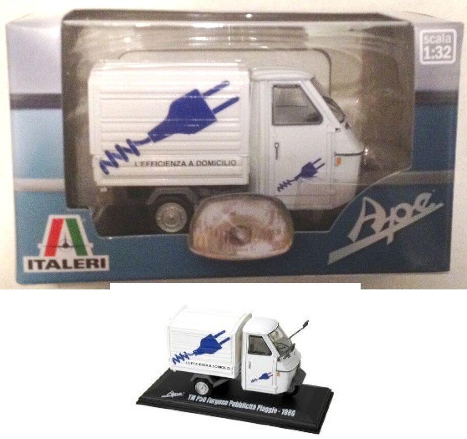 Piaggio Ape B150 Van Furgone Migone Liquori 1954 Italeri 1:32 IT76814MIG Modellb
