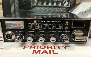 STOP-L-K-Cobra-29-LTD-40-Channel-CB-Radio-Competition-CB-Radio-Chrome