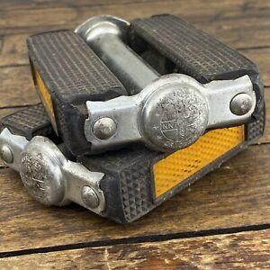 "Vintage SCHWINN Pedals Block Union U10 Stingray 1/3"""