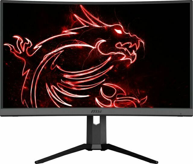 MSI OPTIX MAG272CQR 27 Curved Gaming Monitor. 2560 x 1440 QHD resolution. 165 Hz refresh rate
