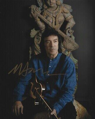 A Genesis In My Bed Steve Hackett Autograph Signed Hardback Book AFTAL