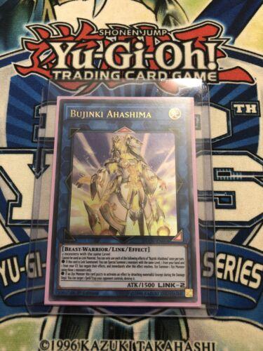 Yugioh Bujinki Ahashima Ultra Rare DUOV 1st Edition Mint