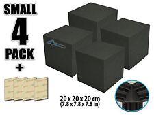 New 4 pcs 20*20*20cm (7.8*7.8*7.8 in) Studio Acoustic Corner Cube Bass Trap Foam