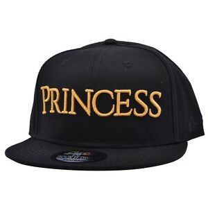 Image is loading Princess-Cap-Baseball-Caps-Snapback-Cap-Gold-And- 8930cd80134f