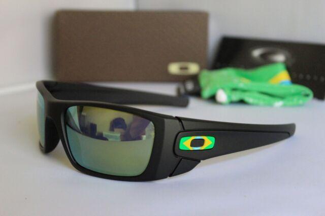 08547f0a47 New Oakley Fuel Cell Brazil Country Flag Matte Black/Emerald Sunglasses