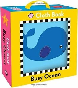 Busy Ocean Cloth Book (my First Books) by Roger Priddy