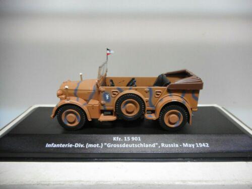 Kfz.15 901 INF-DIV GROSSDEUTSCHLAND GERMANY 1942 II WW ALTAYA IXO 1//43