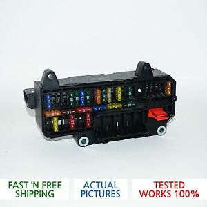 02 08 bmw e65 e66 745 750 fuse box fusebox junction terminal relay rh ebay com Electrical Panel Vehicle Fuse Box