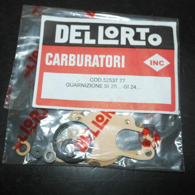 52537 / 11627 Kit Guarnizioni Carburatore Dell'orto SI 20..  VESPA PX E 125 200