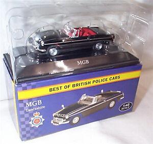 MGB-Lancashire-Police-echelle-1-43-New-in-Box-Best-of-British-Voitures-de-Police