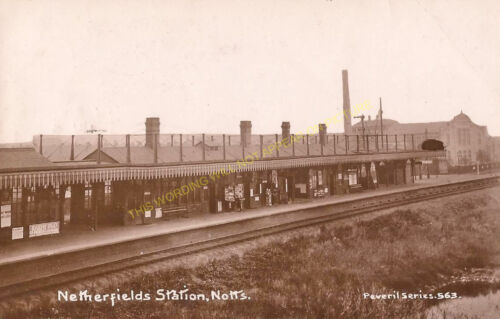 2 Netherfield /& Colwick Railway Station Photo Nottingham Line GNR.