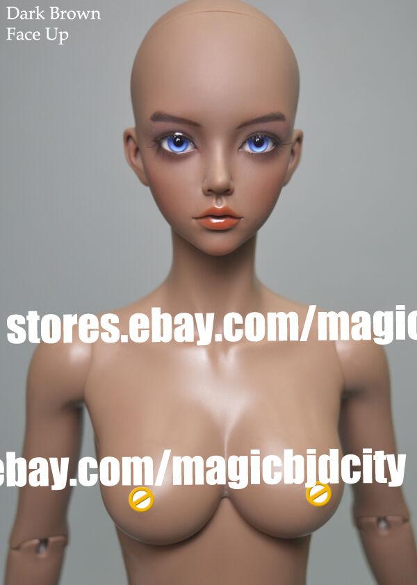 Muñeca de BJD 1 3 Moda Mujer Libre ojos y la cara de belleza de maquillaje para la venta