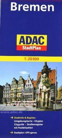 ADAC Stadtplan Bremen: StadtInfo & Register: Umge... | Buch | Zustand akzeptabel