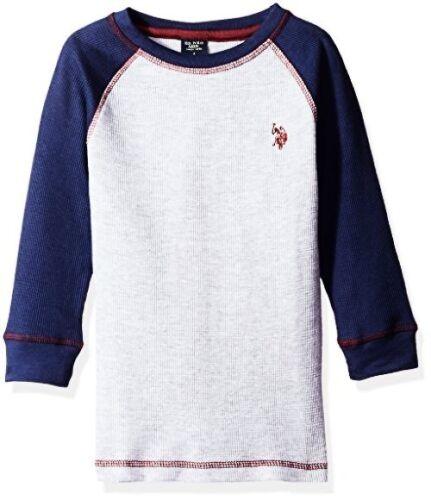 Boys Big Raglan Sleeve Select SZ//Color. US Polo Assn Childrens Apparel U.S