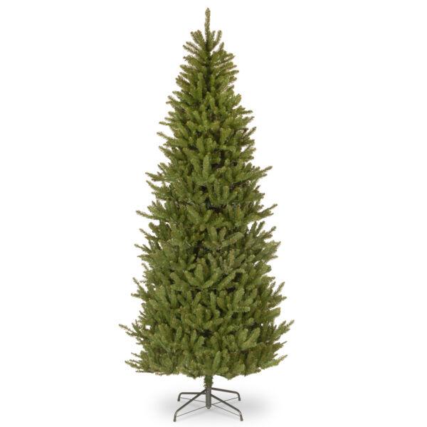 7 Ft. Natural Fraser Slim Fir Artificial Christmas Tree ...