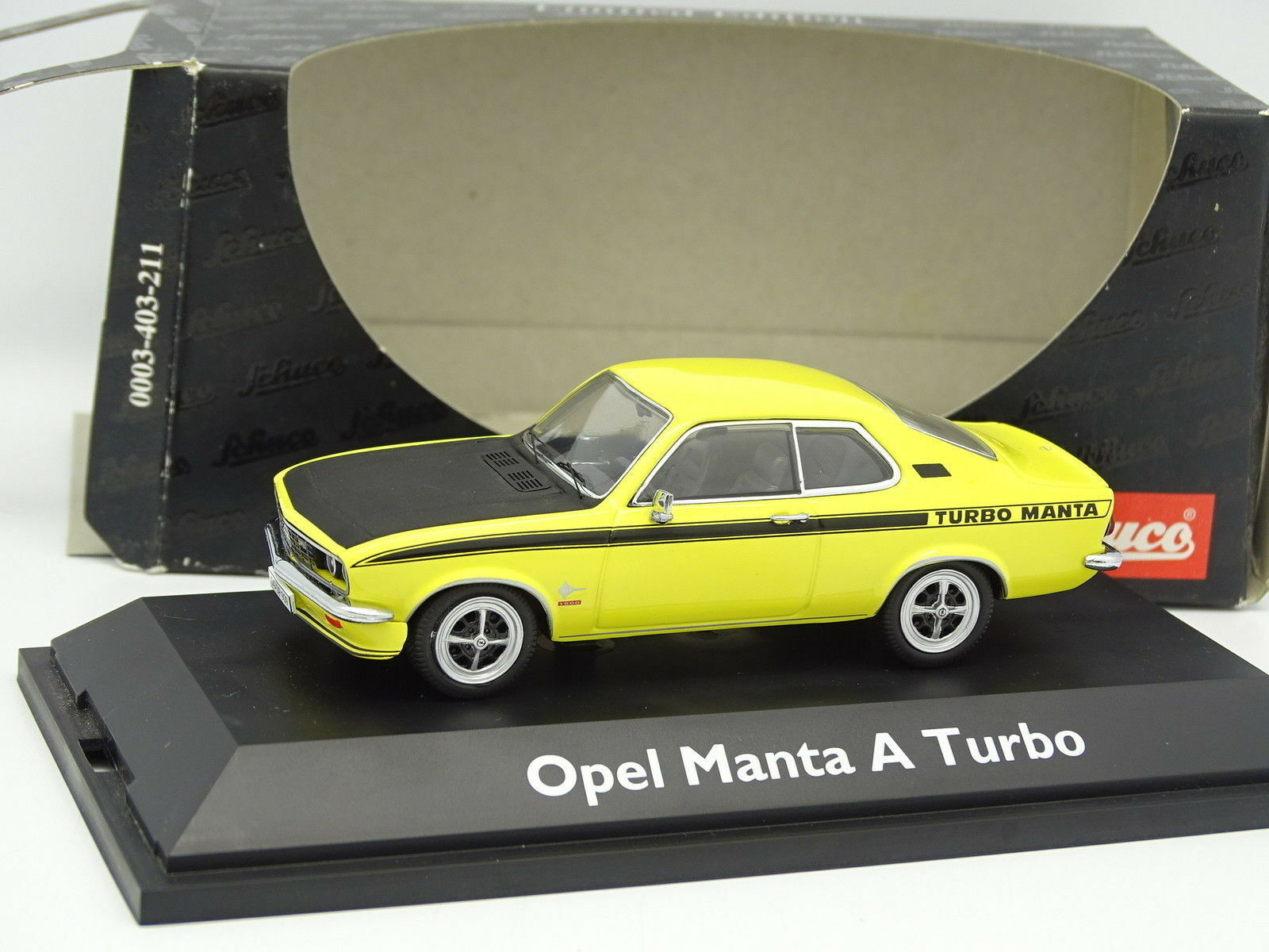 Schuco 1 43 - Opel Opel Opel Manta A Turbo Yellow fe249a