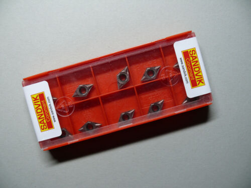 10 Stück Wendeplatten DCMT 07 02 02-MF 1125 SANDVIK Coromant Neu OVP
