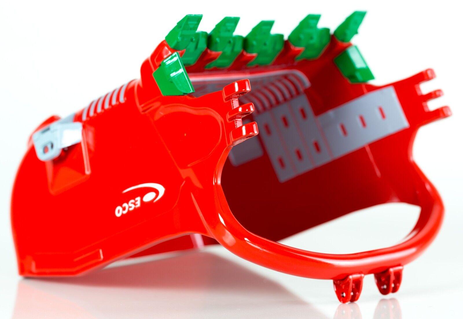 Drake australiano Esco 155 Cubic patio profill Draga Cubo Rojo Escala 150