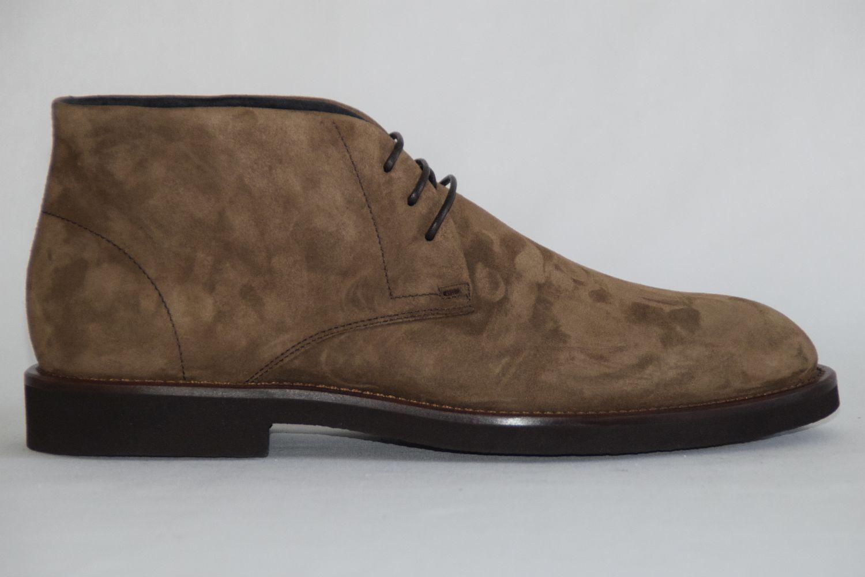 HUGO / BOSS Stiefel, Gr. 42 / HUGO UK 8 / US 9,   , Made in ,Medium Braun b8350a