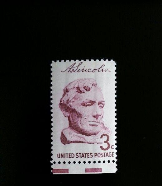 1959 3c Borglum Bust of Abraham Lincoln Scott 1114 Mint