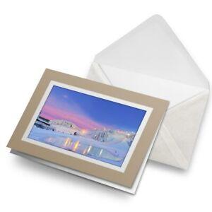 Greetings-Card-Biege-Ruka-Finland-Travel-Snow-Winter-Sky-24127