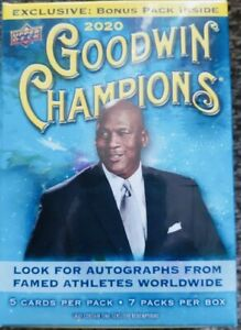 2020-UPPER-DECK-Goodwin-Champions-Blaster-Box-Dominguez-Lebron-Jordan-Burrow