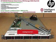 HP MSA50 Modular Smart Array 3TB SAS Storage With Rack Kit * 364430-B21 *