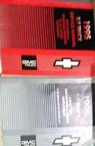 1995 Chevy Gmc St S T S 10 Truck Jimmy Blazer Service Shop border=