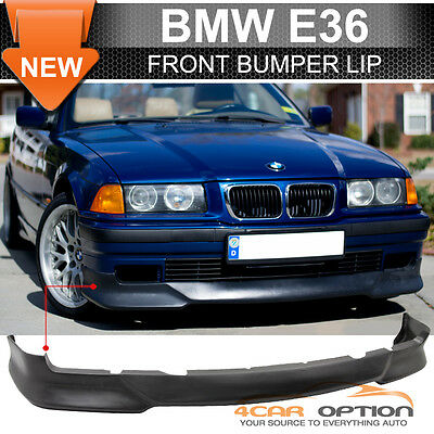 92-98 BMW E36 3 Series M Tech Msport Style Front Bumper Lip - Poly Urethane