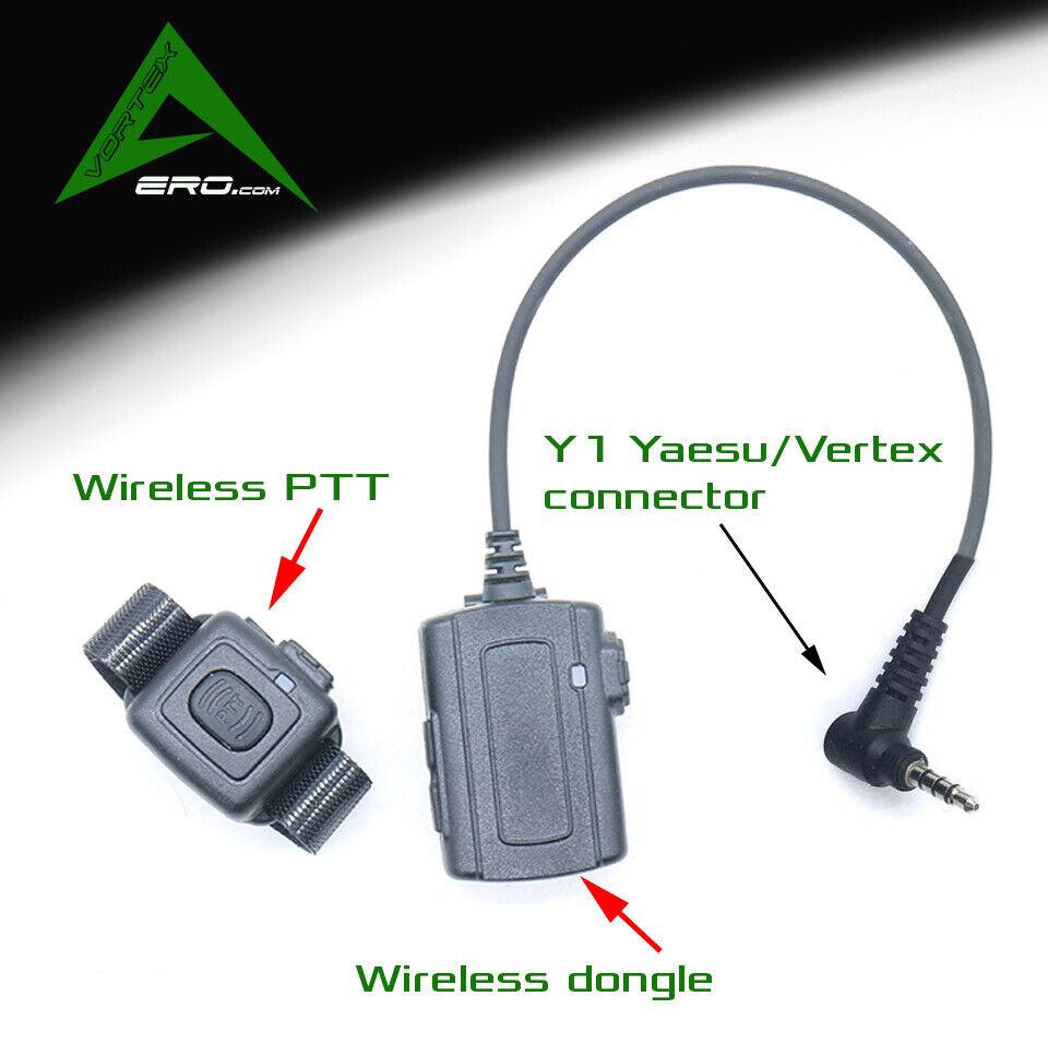 Aviation headset blutooth two way radio dongle Yaesuverdeex Y1