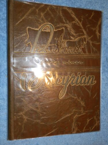 1949 Bucyrian HIGH SCHOOL Bucyrus OH YEARBOOK Annual Crawford County