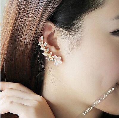 Silber Ohrringe 1 Paar Ohrhänger Kristall Diamanten Ohrstecker Schmuck LA FERANI