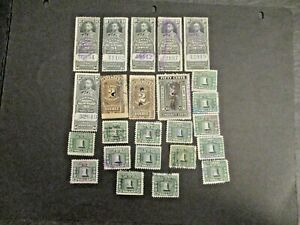 Canada-B-O-B-Revenue-Stamp-lot-not-researched