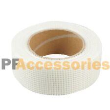 65 Ft X 2 Self Adhesive Fiberglass Cloth Tape White Mesh Roll For Drywall Repai