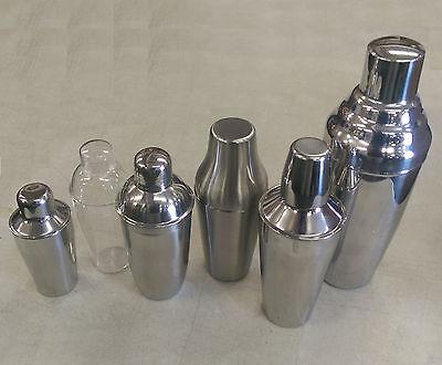 10/14/16/20/28/30/60 oz Bartender Cocktail Shaker - Martini Drink Bar Mixer Tool