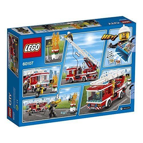 Lego City Échelle Voiture 60107 Nouveau De Japon