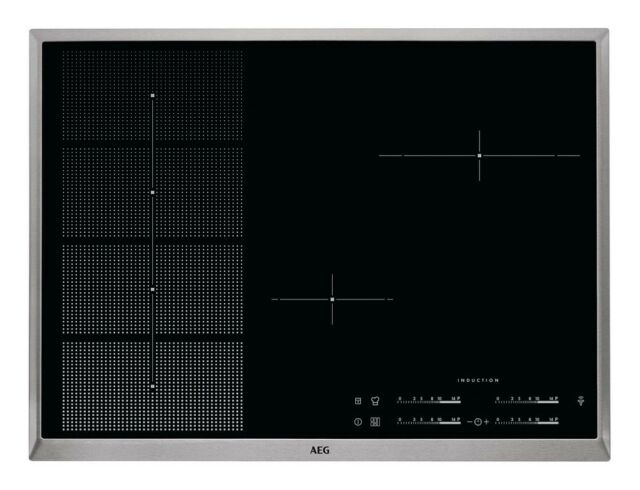 AEG HKP75410XB 70CM 4 Zone H2H INDUCTION COOKTOP RRP $4199.00