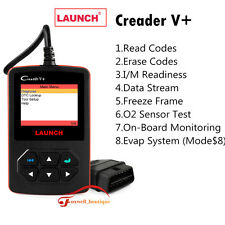 Launch Creader V+ Car Scanner Erase Fault Code Reader OBD2 Diagnostic Scan Tool