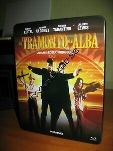 DAL-TRAMONTO-ALL-039-ALBA-BLU-RAY-STEELBOOK-METAL-BOX-FUORI-CATALOGO