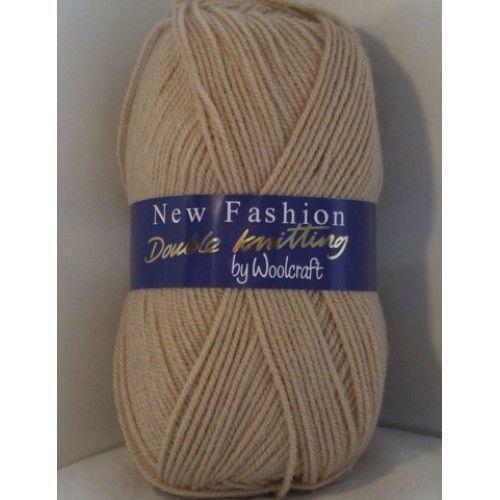 8005 Fawn Woolcraft New Fashion Double Knitting Acrylic Yarn//Wool 100g