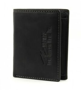 Tom-tailor-gary-Wallet-High-monedero-Cartera-monedero-caballero-negro-nuevo