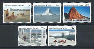 Australie-Territoire-antarctique-N-63-67-MNH-1984-Vues-du-territoire