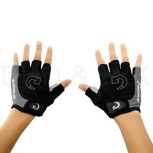 Half-Finger-Gloves-Sports-Racing-Cycling-Motorcycle-MTB-Bike-Bicycle-Gel-M-L-XL