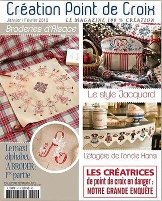 French cross stitch magazine Creation point de croix No.16 ...