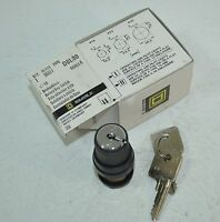 Square D Rotary Key Switch Class 9001 Model D8l30