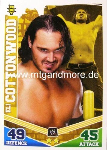 Slam Attax Mayhem #147 Eli Cottonwood