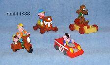 1991 McDonalds Piggsburg Pigs Complete Set - Lot of 4, Boys & Girls, 3+