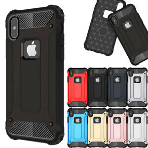 Shockproof-Silicone-Rubber-Hard-Case-Cover-For-Apple-iPhone-X-8-7-6s-6-Plus-5-SE