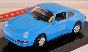 Porsche 911 Type:993 Coupe 1993-98 blue blue 1:24